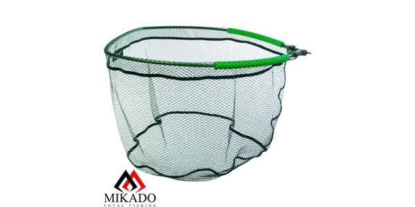 Подсачек без ручки спортивный Mikado METHOD FEEDER, разм. 60/50/45, ячейка 5 мм